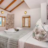 Bedroom 2. With views out to sea from your bed. (Villa Ruza)