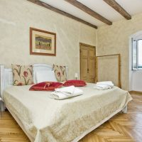 1146 Master bedroom with views of Kotor Bay & the Mountains at 165 Prcanj
